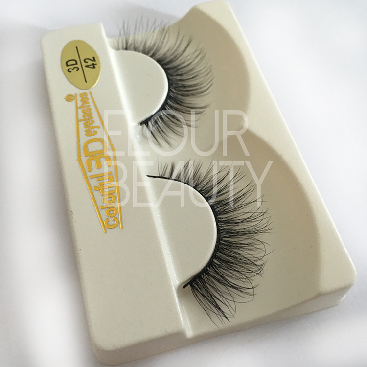 High qualty private label perfect silk lashes EJ12