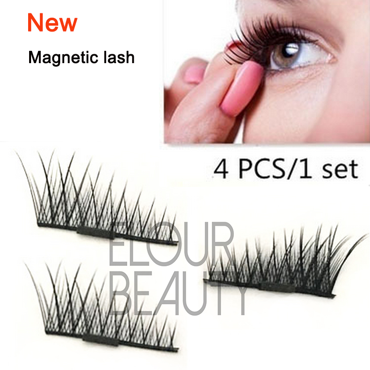 1fe2b46f99e Private label magnetic false eyelashes usa EA50 - Elour Lashes