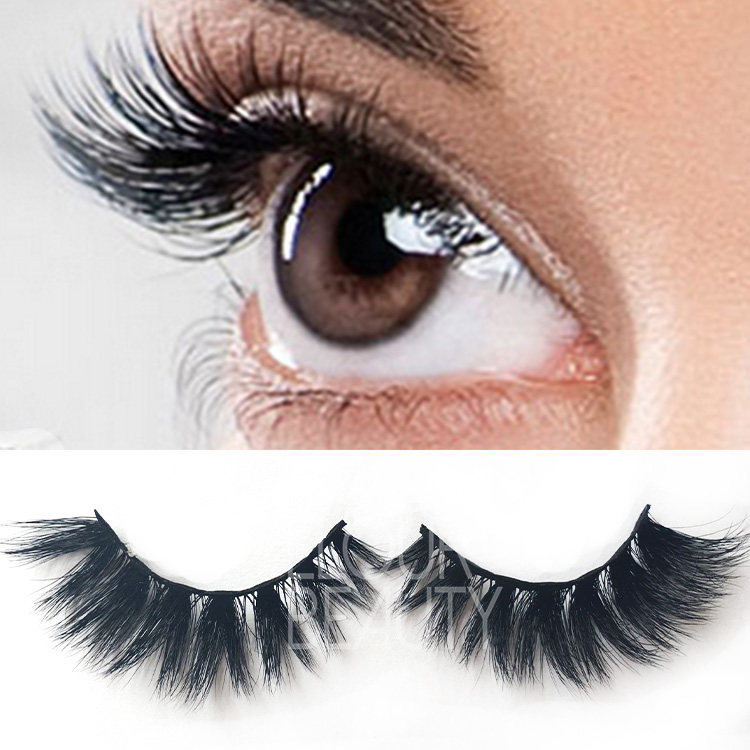 3d mink lash extensions with custom eyelash packaging ES109