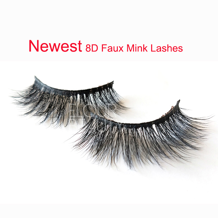 Private label 8D faux mink eyelashessupplies  private label for amazon EY35