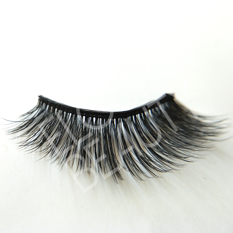 Hundreds styels of pre-glued false eyelashes be reused ED38