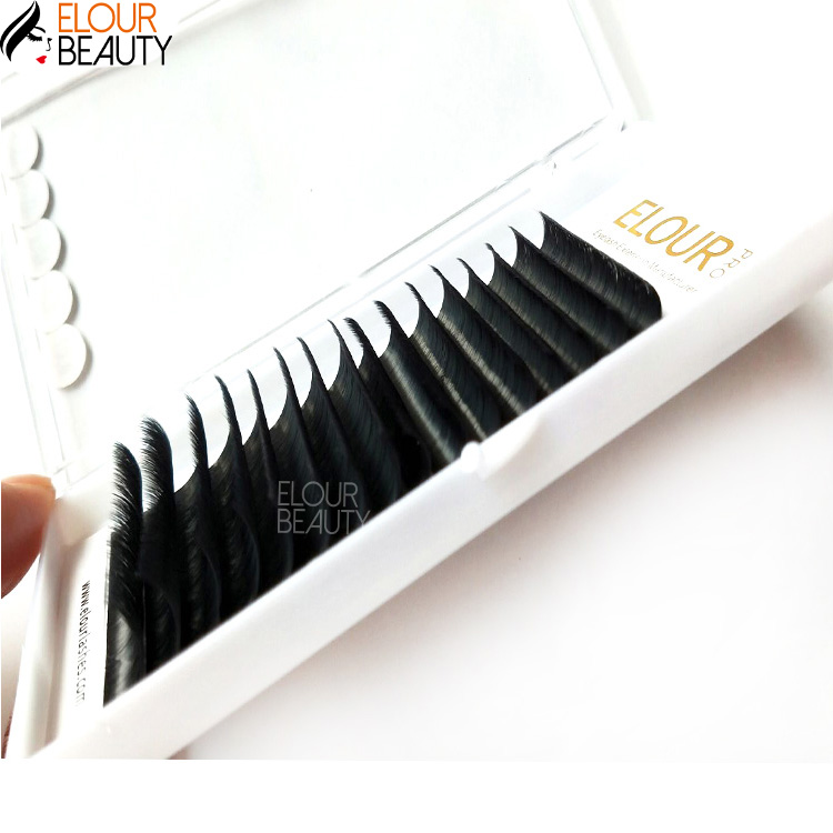 Automatic Blooming Quick Fan Eyelashes Extension private label EL150