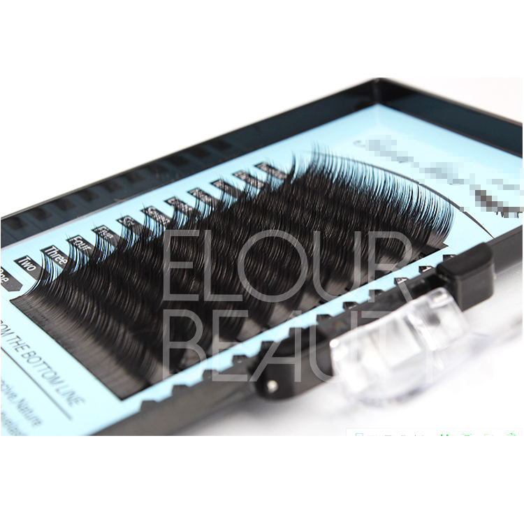 Wholesale low price volume eyelash extensions natural looking ES43