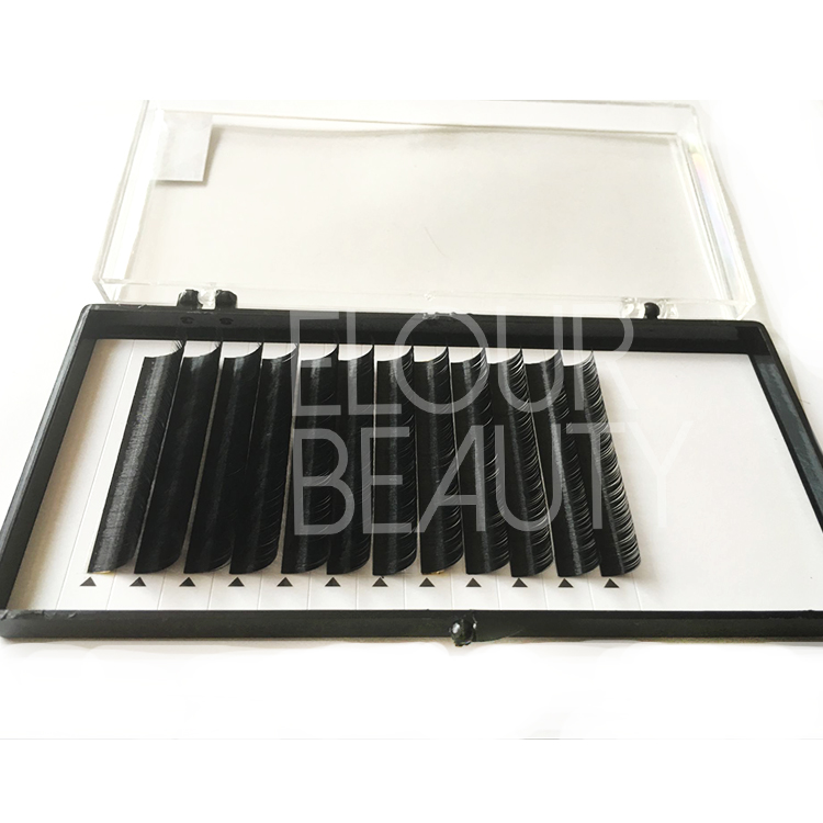 Best quality silk 3D eyelash extensions near me EJ78