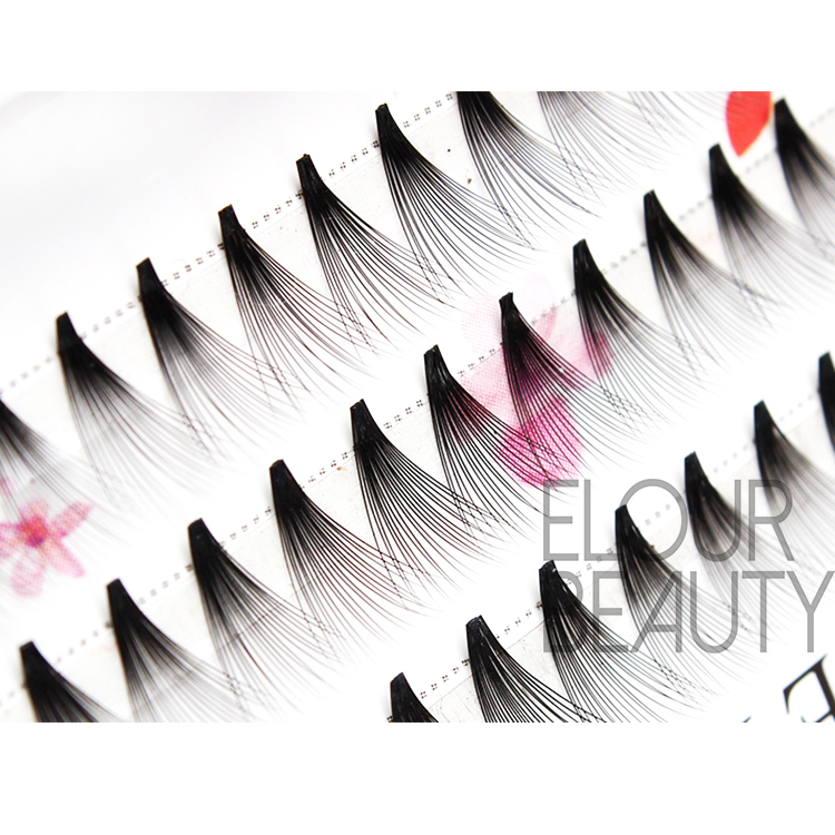 Factory supply gorgeous 4D individual false eyelashes ES46