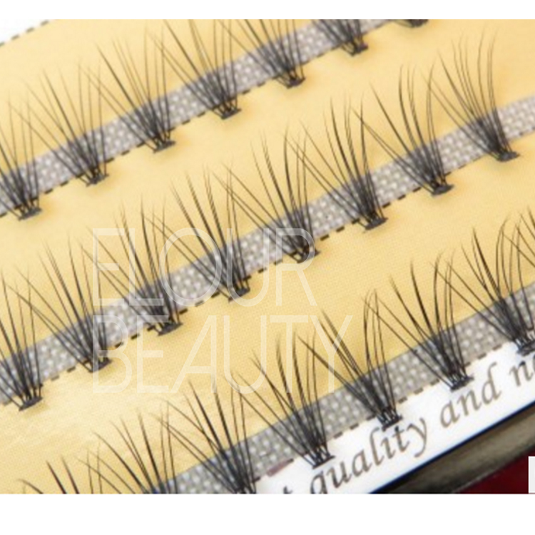 Hot sell pre made Russian volume lash extension manufacturer China