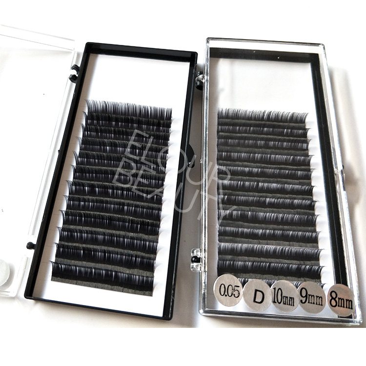 dbae48c09d6 Private label easy fan camelia eyelash extensions China EL100 ...