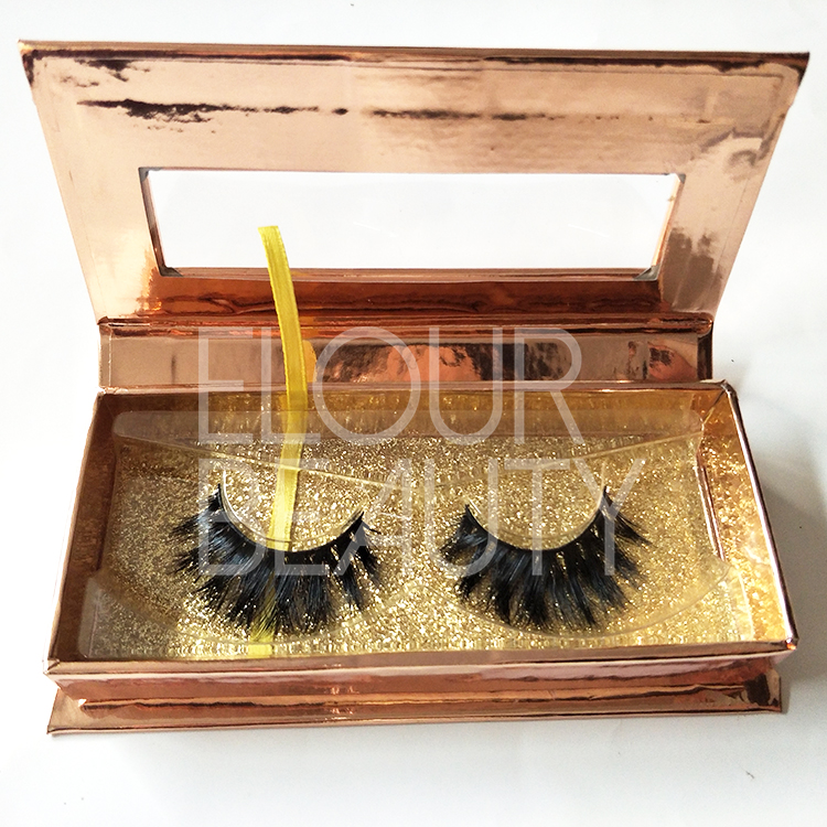 Mink 3D eyelash extensions reviews custom package wholesale