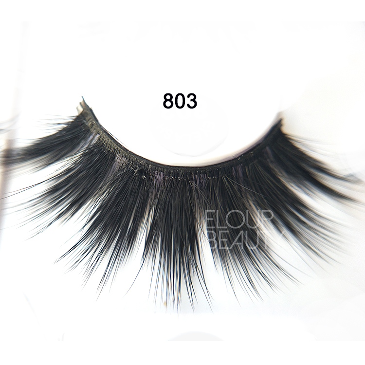 Double layers 3D faux mink volume  miracle lash China wholesale ED105