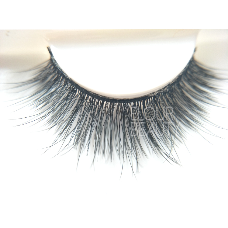 Premium quality 3D silk strip false lashes wholesale Australia ED69