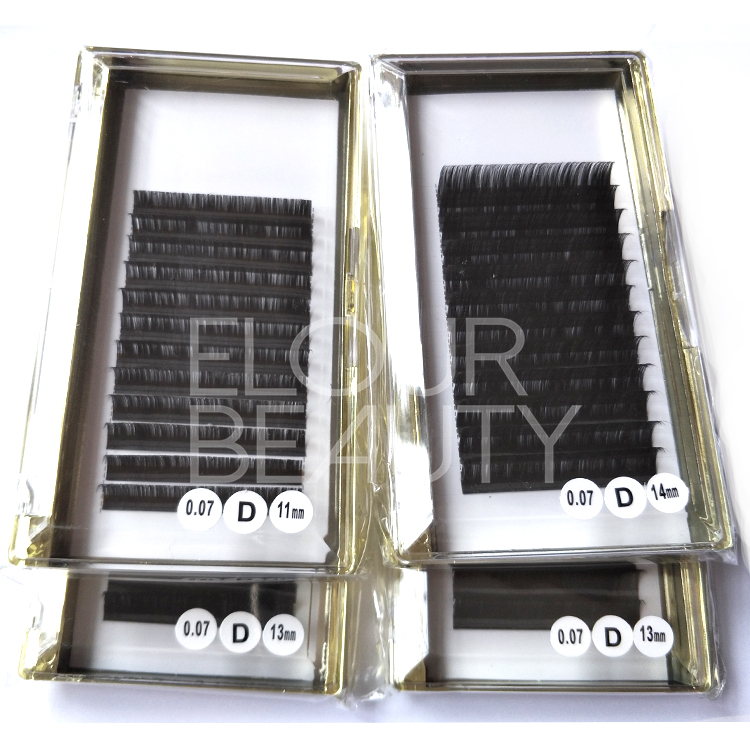 Super soft silk mink volume eyelash extensions USA ED116