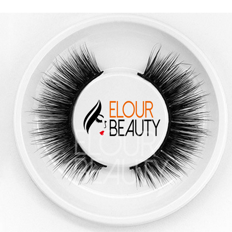 77d13a705ff 3D wispy styles mink strip lashes private label China factory EA117 ...