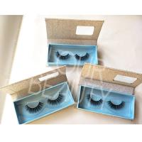 Private lable 3d wispy style mink lash vendors ED14