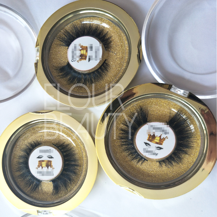 Wholesale 3D False Eyelashes Cruelty Free Mink Hairs Good Feedback EL04