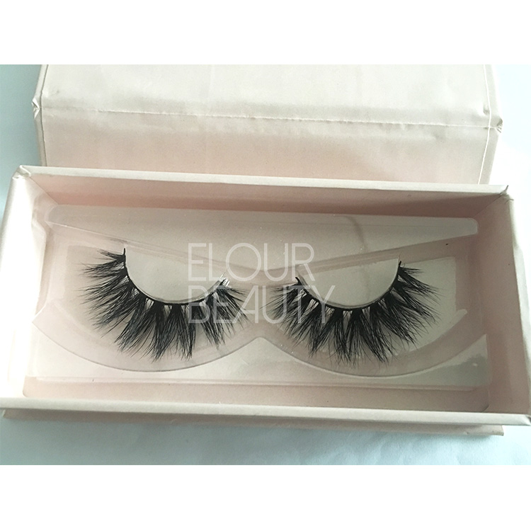 Factory supply wholesale mink lashes private label China ED25
