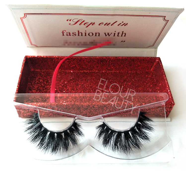 Bulk private label 3d mink lashes manufacturers EL113