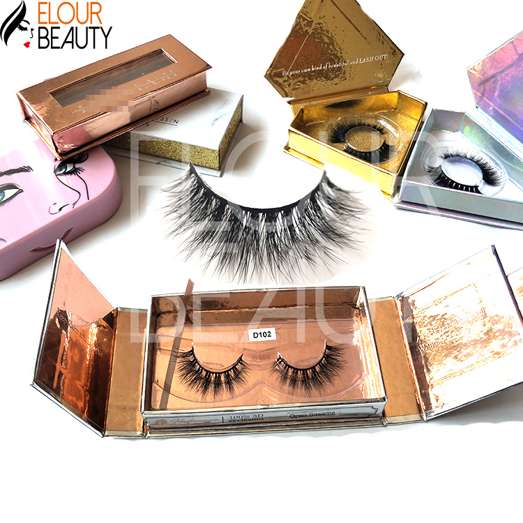 Private label 3d mink lash vendors wholesale China EL144