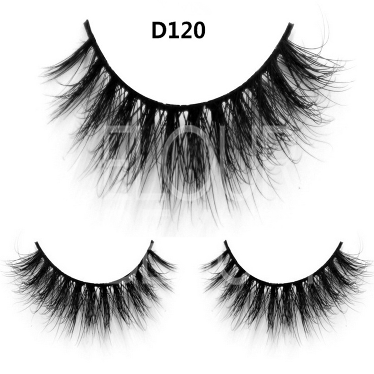 100% mink hair wholesale mink eyelash with custom packaging ES28