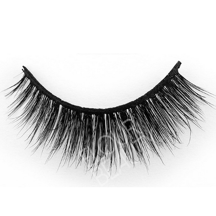 3D wispy styles mink strip lashes private label China factory EA117