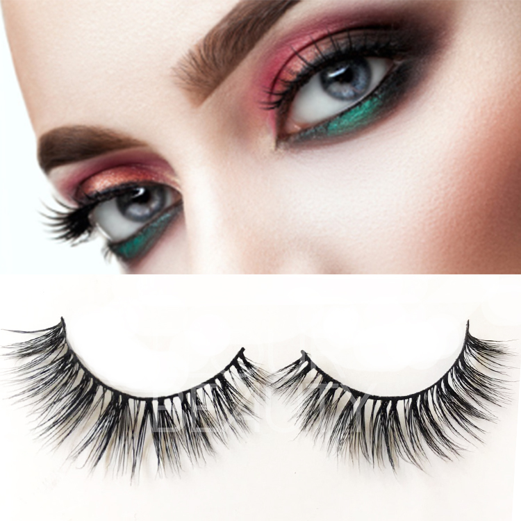 Premium quality Mink false eyelashes China factory supply ES4