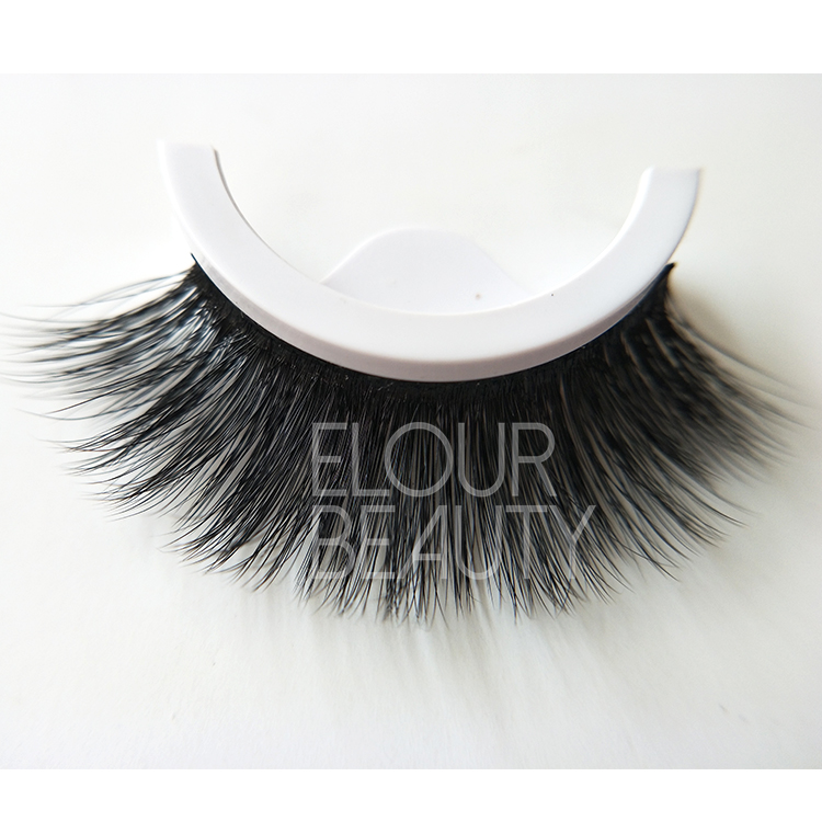 Wholesale beauty supply self--adhesive false eyelashes manufacturer ED29