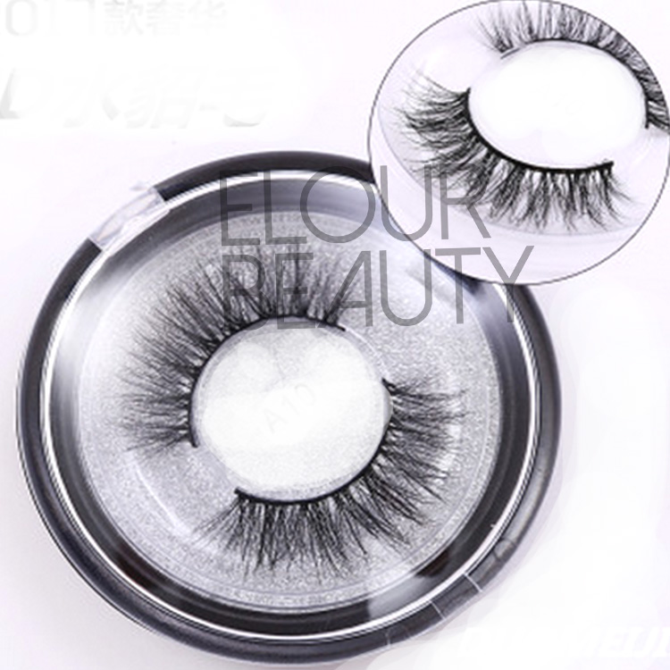 3D mink eyelashes own brand magnetic boxesfor cosmetics EA94