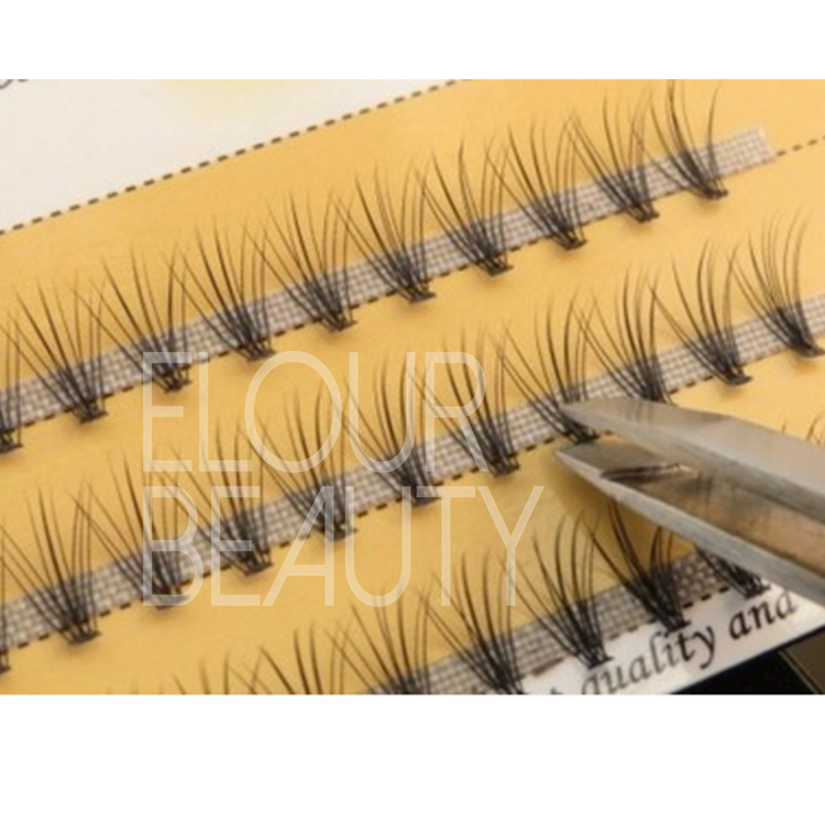Hot sell pre made Russian volume lash extension manufacturer China ED121