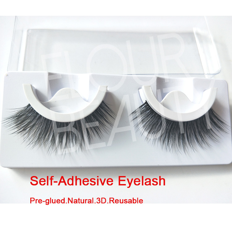 Self adhesive false eyelashes ardell same styles China ED10
