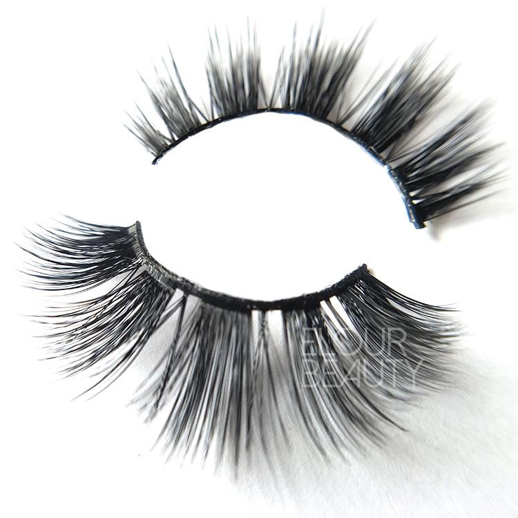 718c219ecfd Beauty natural 3D faux mink lashes manufacturer China EL70 - Elour ...