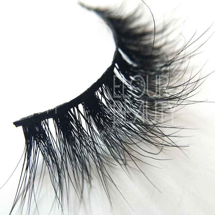 Best mink 3D fake lashes dramatic makeup USA EA18