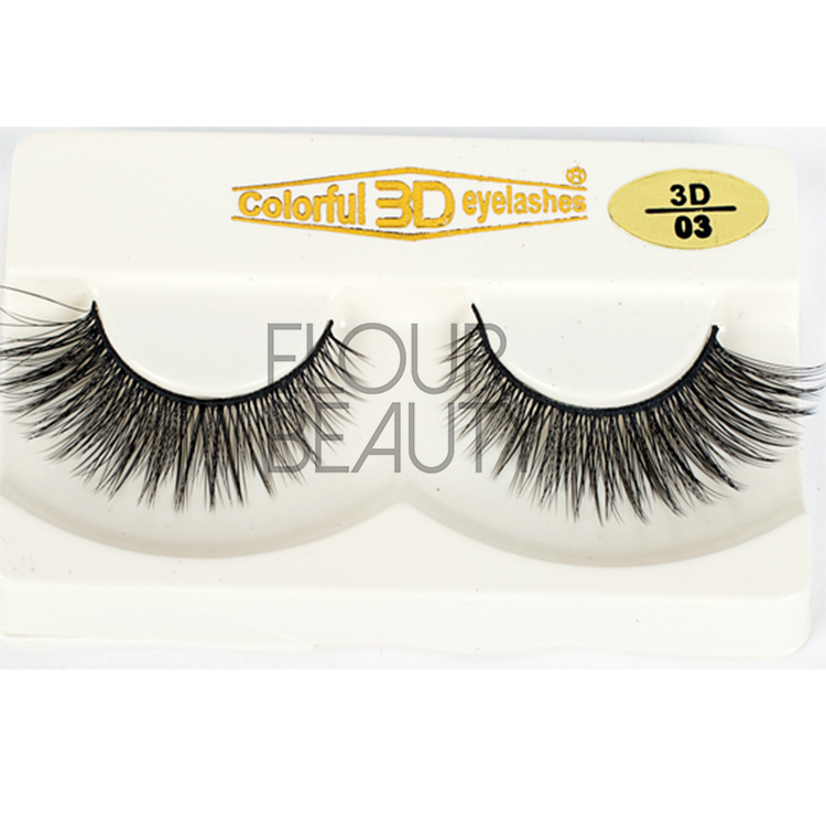 3D silk lashes same as red cherry eyelashes China EA06