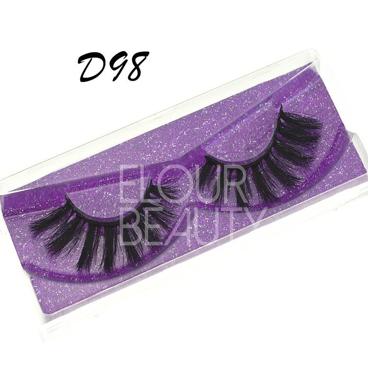 Volume 3d Faux Mink Eyelash Extensions Suppliers Ea130 Qingdao