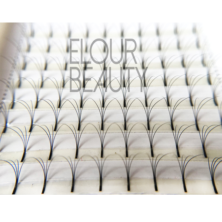 Individual natural Russian volume flare lashes wholesale ED46