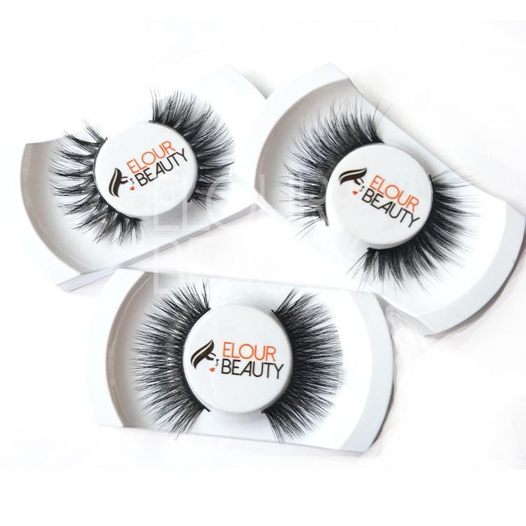 53960e4fd5b Private label reusable 3d mink faux full lashes factory supplies ...