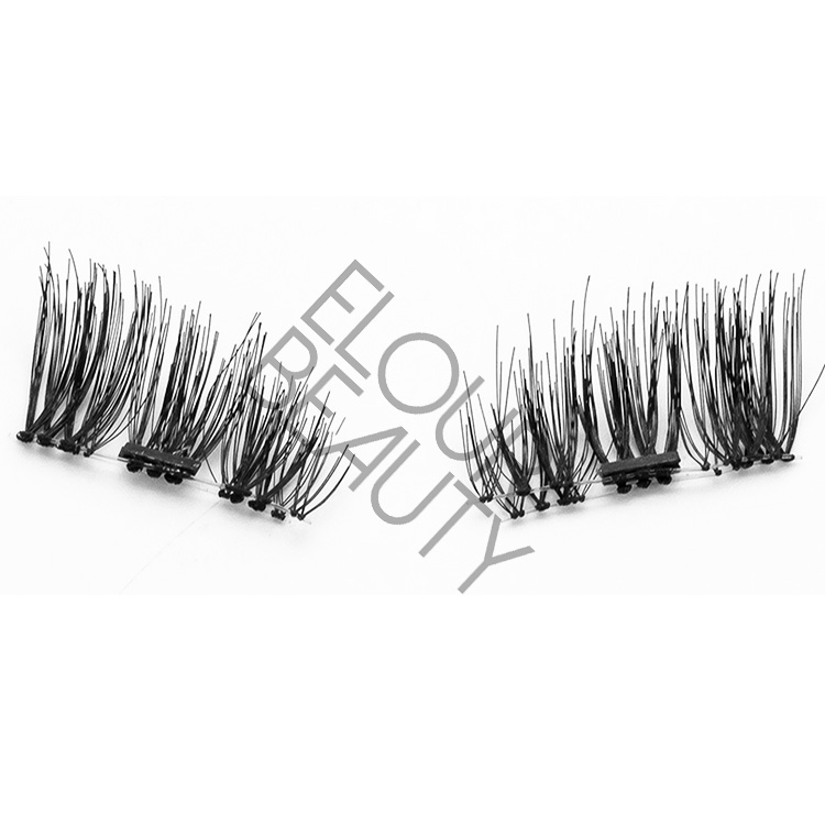 Beauty 3d magnetic false eyelashes China manufacturer EA19