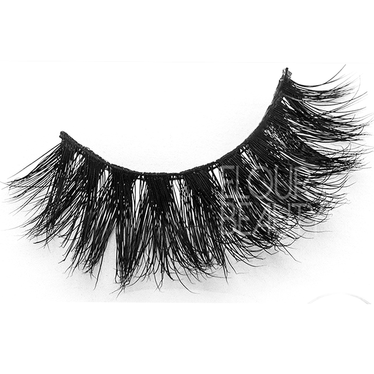 Top quality 3d mink strip lashes wholesale ED05