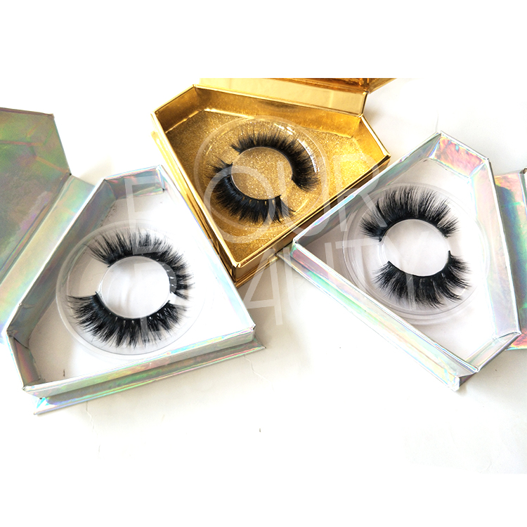 Wispy 3D mink eyelash vendors wholesale EL94