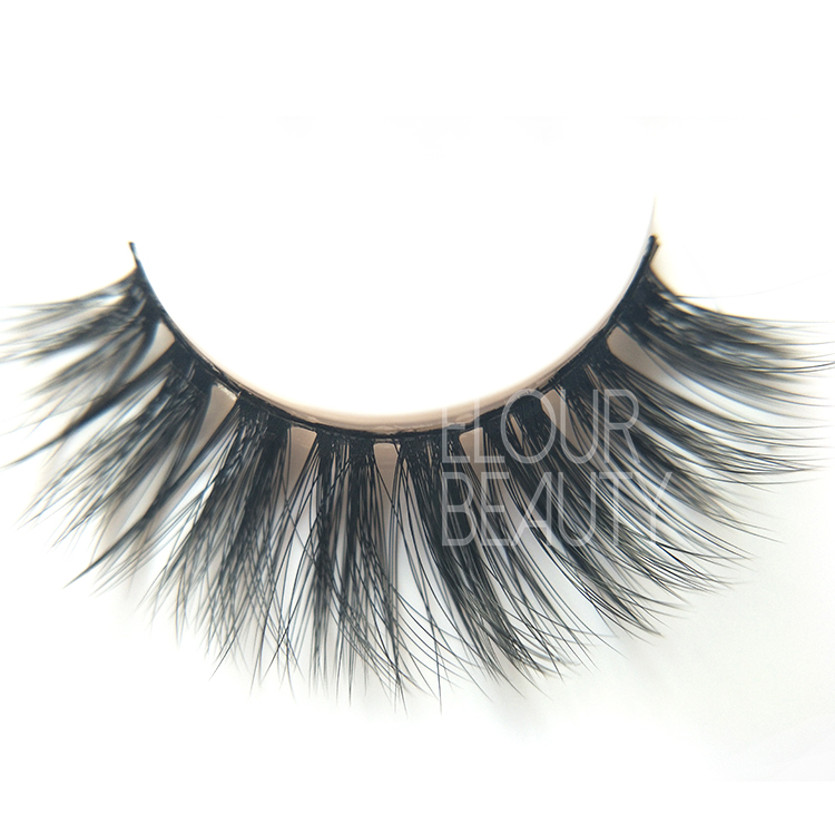 Faux mink volume 3d beauty lashes with private label packaging wholesale ED72