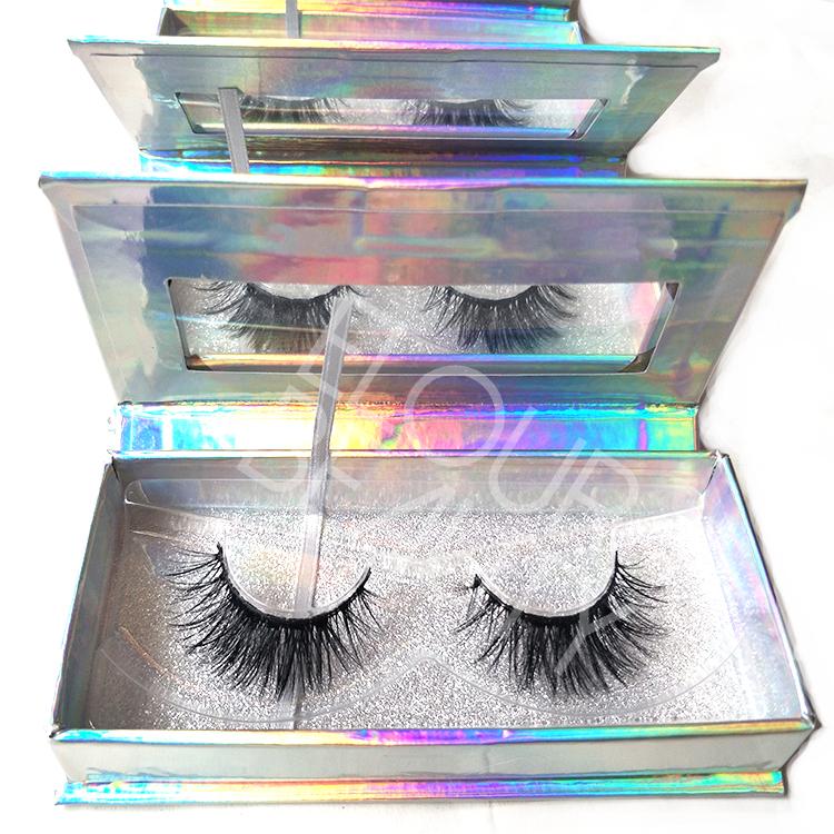 d54001a6bf3 3D Faux Mink Volume Silk False Eyelash Private Label Wholesale EL07 ...
