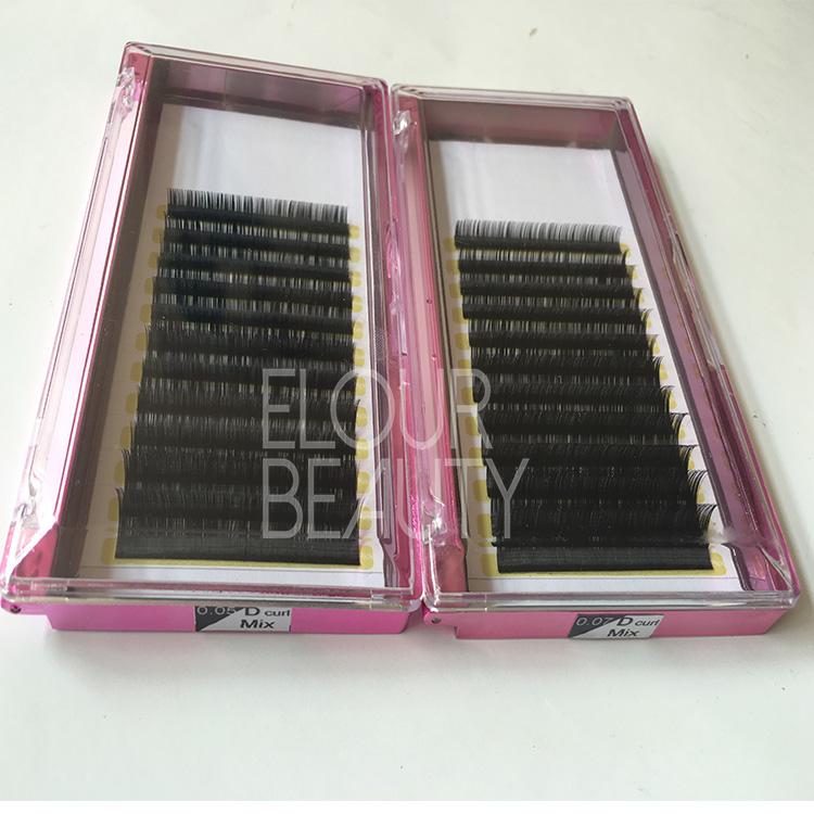 fdab8ac1710 Premium soft faux mink eyelash extension wholesale brighton EA109 ...