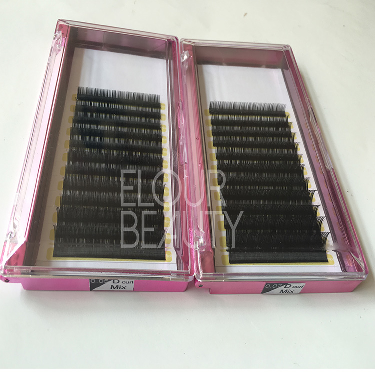 New lash of pemanent volume eyelash extensions Canada EA45
