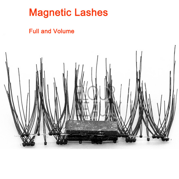 Double layers 3D magnetic lashes OEM China wholesale EA48