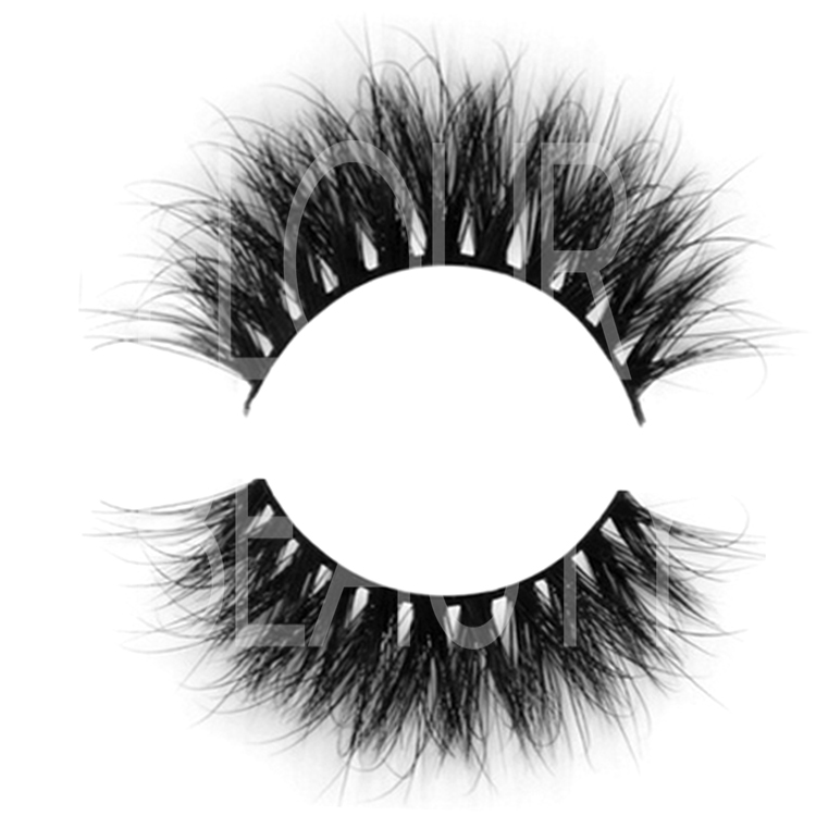 Different 3d mink eyelashes extensions with customers own  design ES51