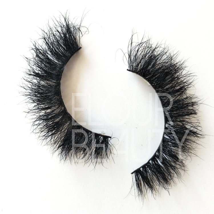 Wholesale 3D styles horse lashes private label suppliers China ED39