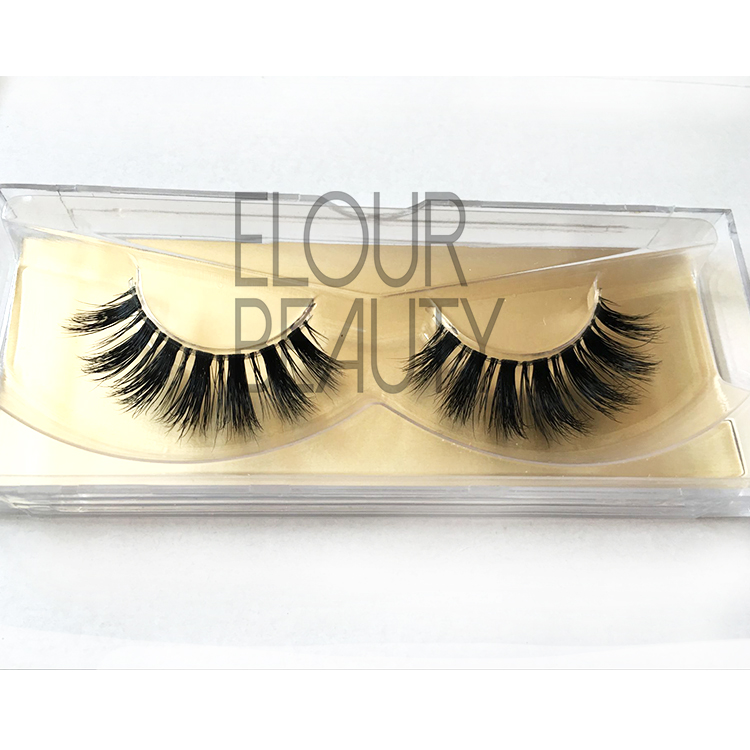 3D belle mink lashes naked bands manufacturer China EA92