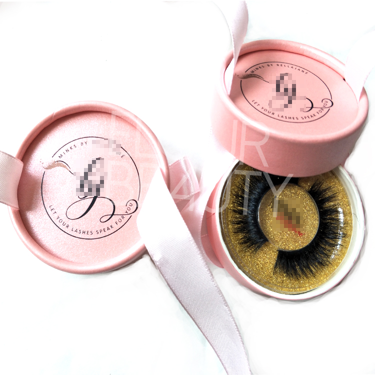 Hot sell OEM private label 3D mink fur eyelashes wholesale China EL09