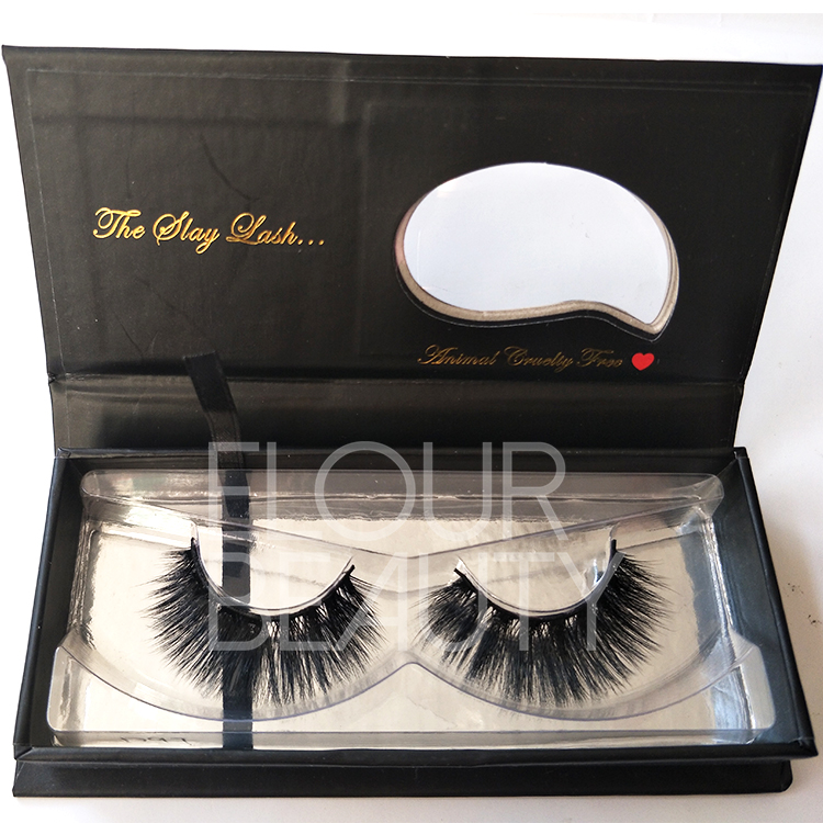 9abaeee3107 3D faux mink volume eyelashes private label wholesale ED31 - Elour ...