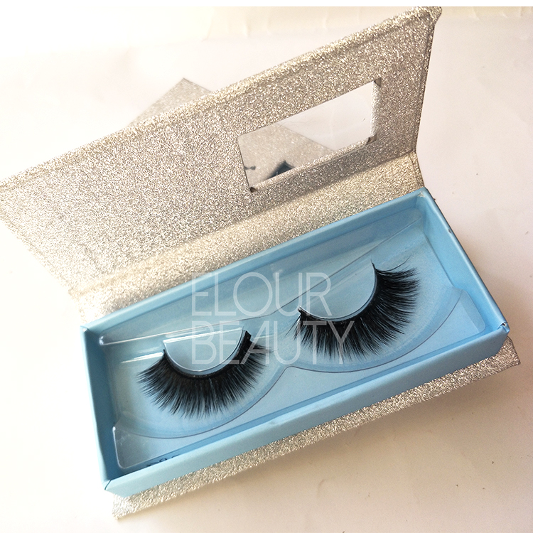 3D volume faux mink lashes same as velour eyelashes wholesale ED60