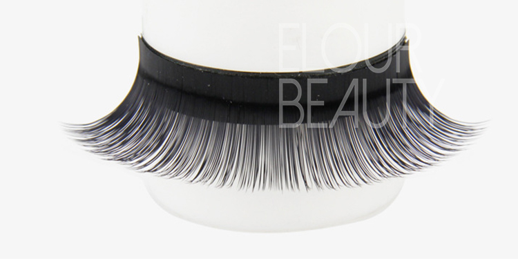 Wholesale 100% handmade individual mink eyelashes extensions manufacturer EL02