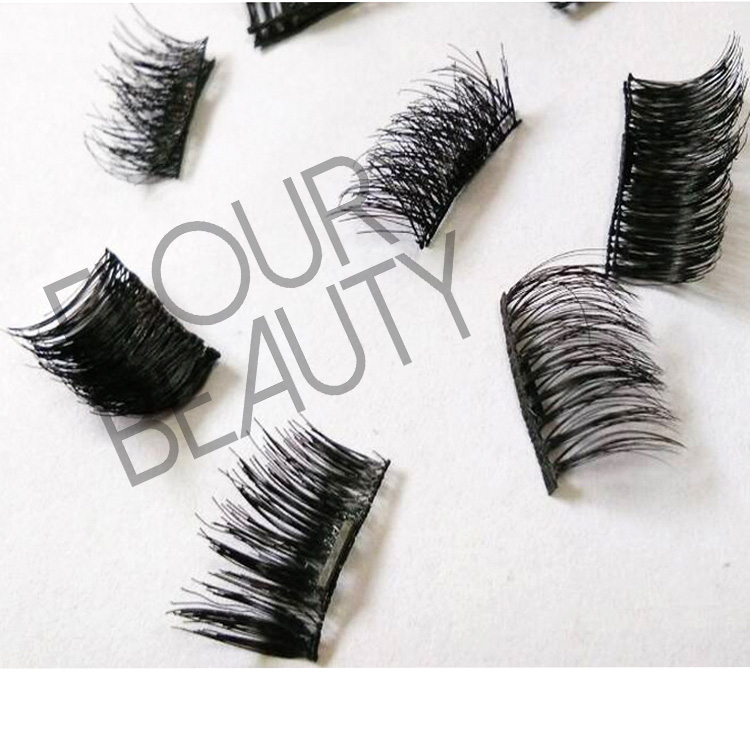 Pretty magic 3d magnetic lashes without glue wholesale EA40